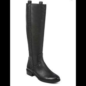NEW Sam Edelman Prina 2 Leather Black Boots SZ 8.5